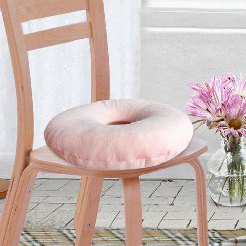 Cheap Soft Short Plush Donut Chair Bottom Seat Cushion