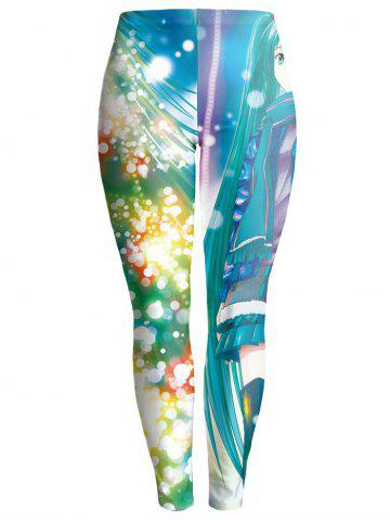 Colorful Imprimer moulantes Chrismas Leggings