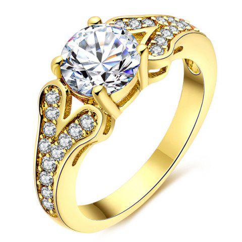 Outfits Artificial Diamond Rhinestone Engagement Ring