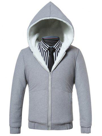 Discount Hooded Fleece Zip-Up Hoodie