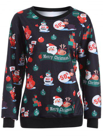 Affordable Merry Christmas Pullover Sweatshirt
