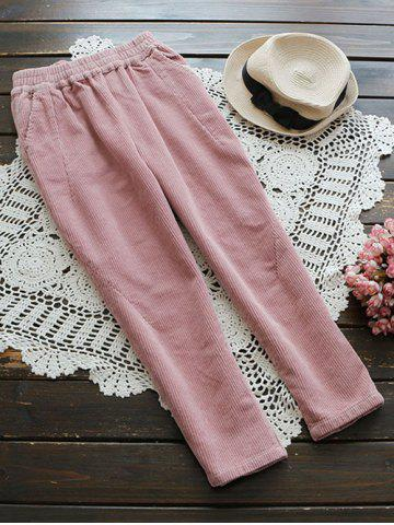 Outfit Casual Corduroy Pants