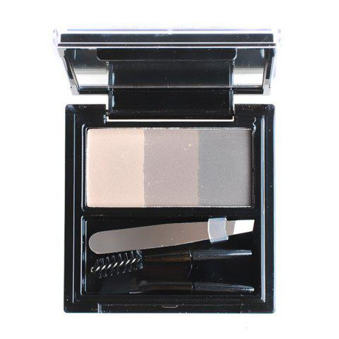 Best 3 Colours Long Wear Eyebrow Kit