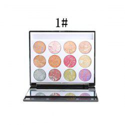 12 Colours Eyeshadow Palette Kit -
