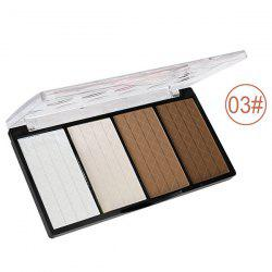 4 Colours Blush Shadow Makeup Palette Kit
