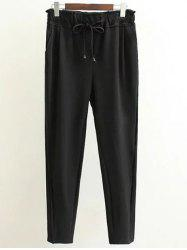 Plus Size Drawstring Pants -