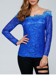 Laciness See-Through T-Shirt -