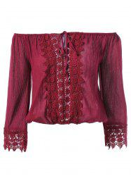 Lace Embroidery Blouse -