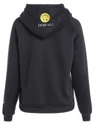Embroidered Thickening Hoodie -
