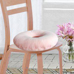Soft Short Plush Donut Chair Bottom Seat Cushion -