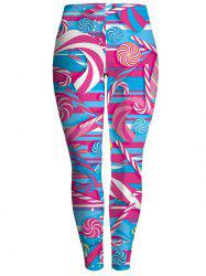 Windmill Bodycon Chrismas Leggings - Multicolore