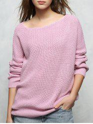 Casual Loose Sweater - PURPLE