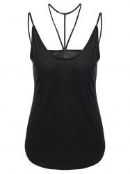 Concise Choker Slip Tank Top -