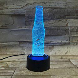 3D Visual Beer Color Changing Party Atmosphere Night Light -