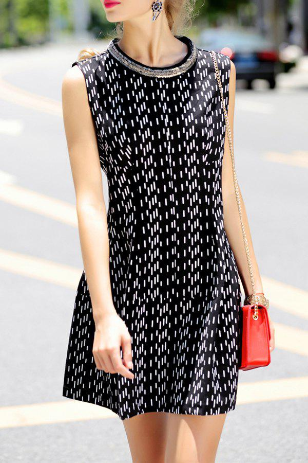 Affordable Mini A Line Sleeveless Dress
