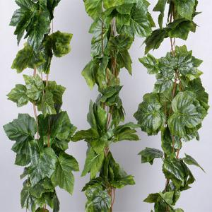 Wedding Home Decoration Artificial Grape Leaves Rattan