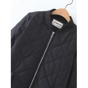 Zip-Up Fitting Padded Coat -