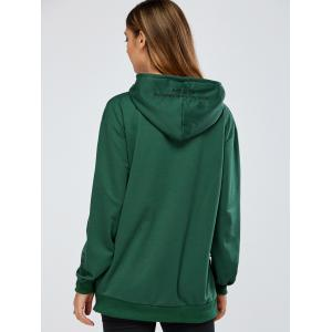 Casual 187035629 Embroidery Hoodie -