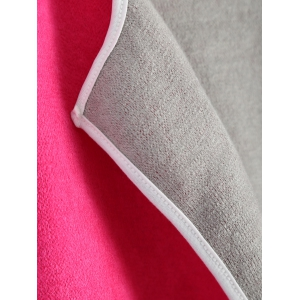 Piped Pocket Long Cardigan - ROSE MADDER XL