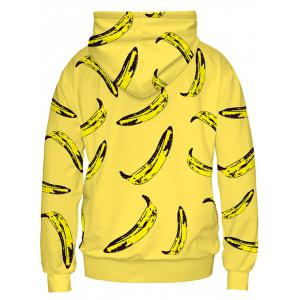 Banana Imprimer Sweat à capuche -
