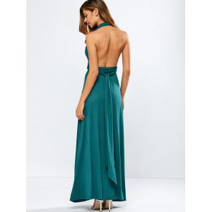 Backless Convertible Prom Dress -