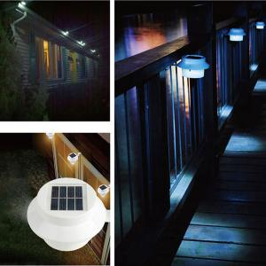 Outdoor Garden Decorative Waterproof LED Solar Courtyard Fence Lamp -