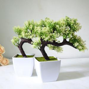 Simulation Plant Artificial Potted Pine Tree Bonsai Decoration -