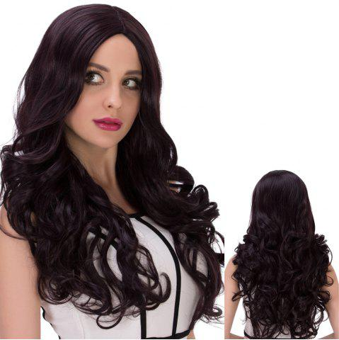 New Long Cute Centre Parting Wavy Synthetic Wig