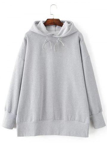 Cheap Long String Loose Hoodie