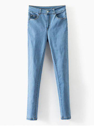 Outfit Skinny Stretchy Pencil Jeans