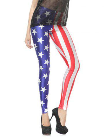 Fashion Flage Bodycon Leggings