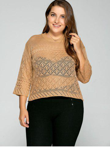 Latest Cut Out Loose Knitwear