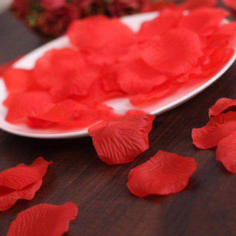 Chic 100 Pieces Wedding Party Simulation Artificial Flower Petals - RED  Mobile