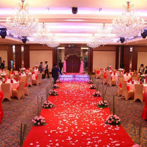 Best 100 Pieces Wedding Party Simulation Artificial Flower Petals - RED  Mobile