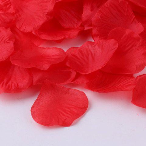 Store 100 Pieces Wedding Party Simulation Artificial Flower Petals - RED  Mobile