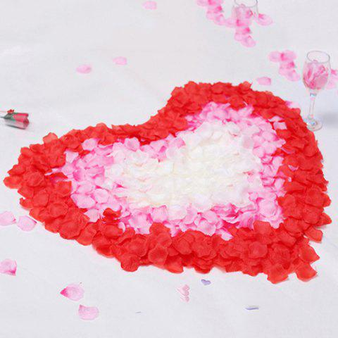 Hot 100 Pieces Wedding Party Simulation Artificial Flower Petals RED