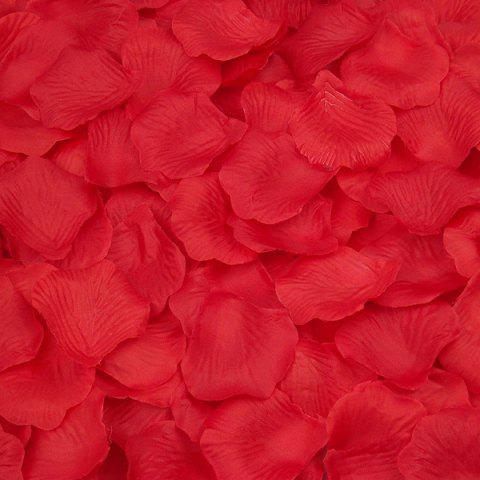 Sale 100 Pieces Wedding Party Simulation Artificial Flower Petals - RED  Mobile