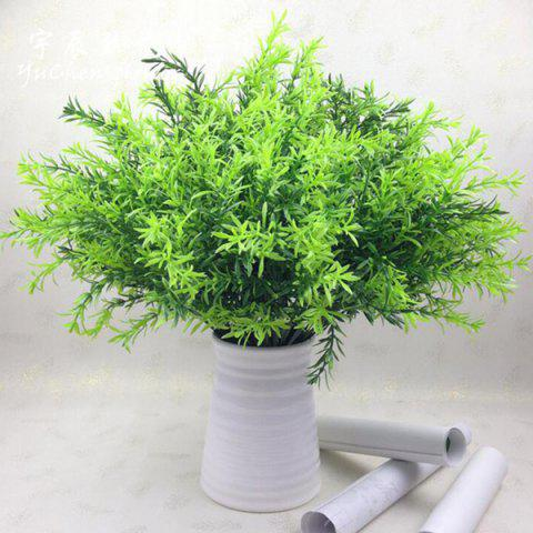 Home Decor 10PCS Fake Greenery Artificial Water Plant - GREEN