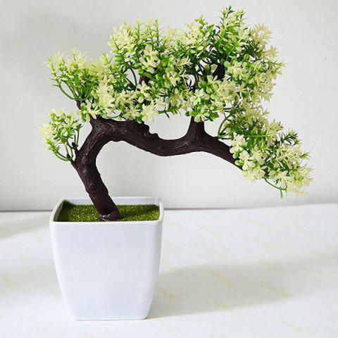 New Simulation Plant Artificial Potted Pine Tree Bonsai Decoration