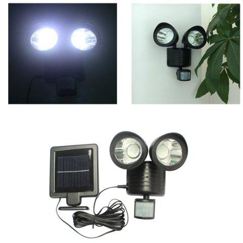 Store LED Solar Garden Lights Outdoor Decorative Waterproof Induction Double Wall Lamp