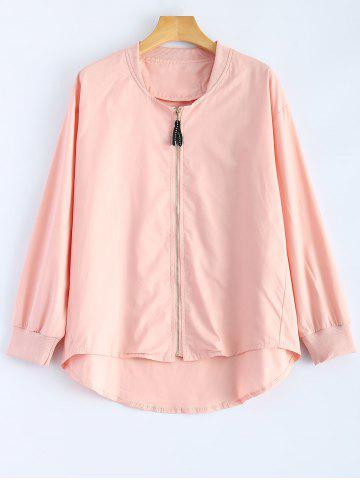 Buy Zipped High Low Jacket