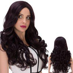 Long Cute Centre Parting Wavy Synthetic Wig -