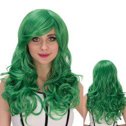 Long Side Bang Shaggy Wavy Cosplay Synthetic Wig