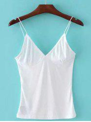 Cami Stretchy Skinny Short Tank Top -