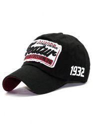 Patch Letter Embroidery Baseball Hat -