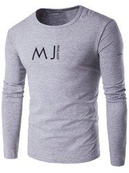 Round Neck MJ Printed T-Shirt
