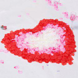 100 Pieces Wedding Party Simulation Artificial Flower Petals -