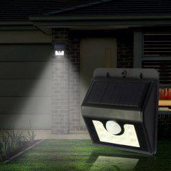LED Solar Garden Lights Outdoor Decorative Waterproof Induction Wall Lamp -
