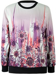 Sunflower Printed Sweatshirt