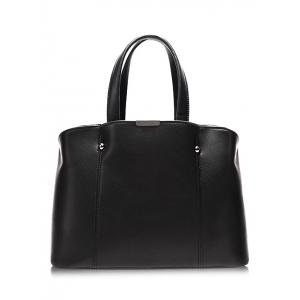 PU Leather Stitching Dome Stud Tote Bag